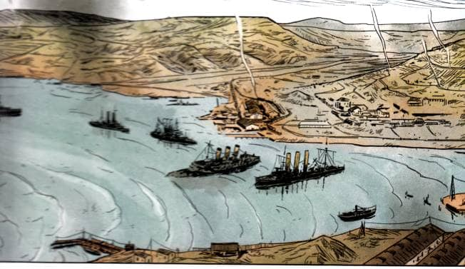 batalla de tsushima