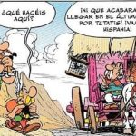 asterix y el turismo