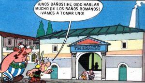 Asterix en las termas