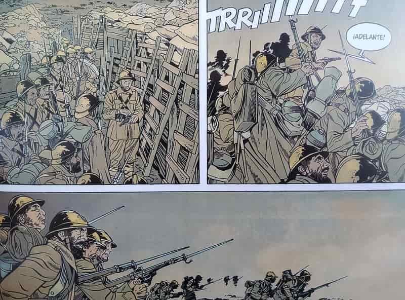 las trincheras