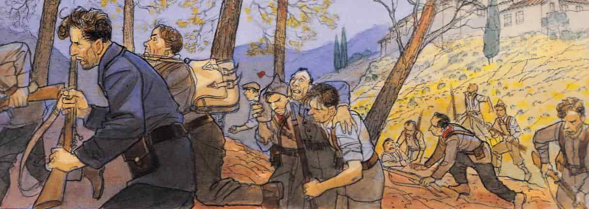 mattéo en la guerra civil española