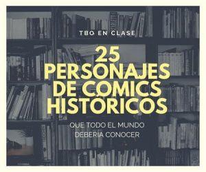 25 personajes de cómics históricos
