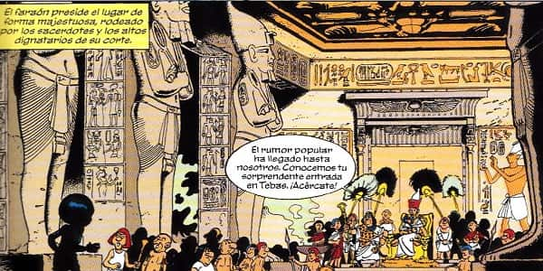 templo egipcio papyrus