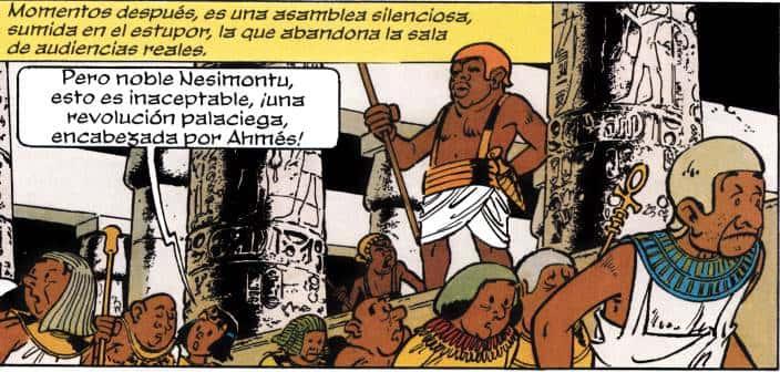 teti-sheri y papirus
