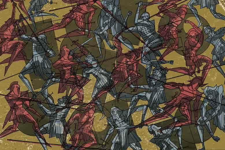 aquiles en la guerra de troya