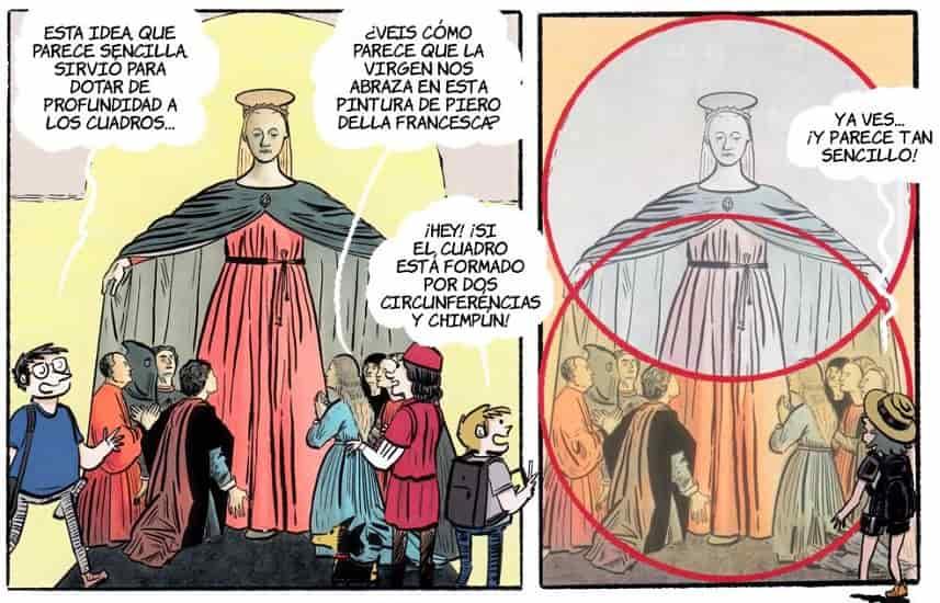 historia del arte en comic