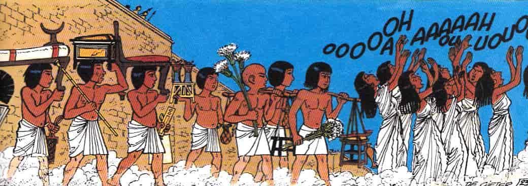 plañideras antiguo egipto