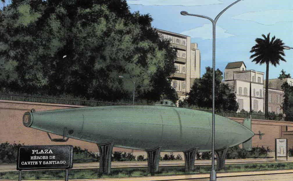 invención del submarino