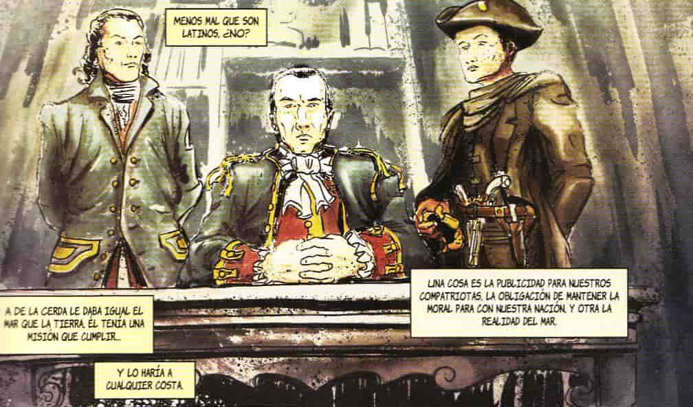 historia de españa en viñetas