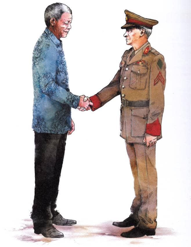 la lucha contra el apartheid mandela y el general